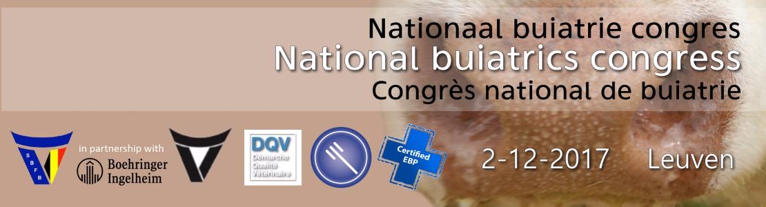 National buiatrics congress - Nationaal buiatrie congres - Congrès national de buiatrie